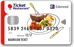 Ticket Restaurant Card (TRC)