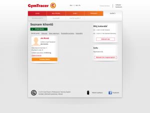 Klienti   GymTracer