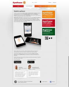 Mobilní aplikace   GymTracer