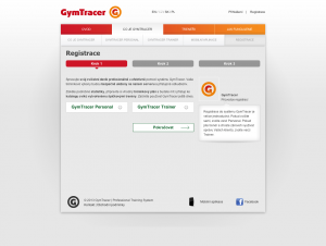 Registrace   GymTracer