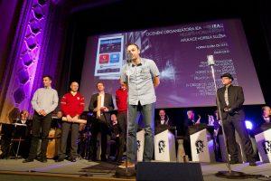 Jiří Horyna - slavnostní vyhlášení soutěže IEA 2012 (20.9.2012)