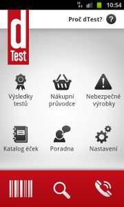 dTest screenshoty (Android)