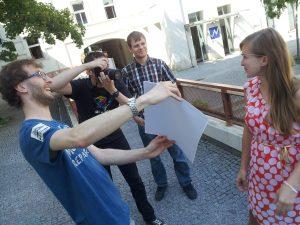 Fotografování Google Glass pro iDnes.cz