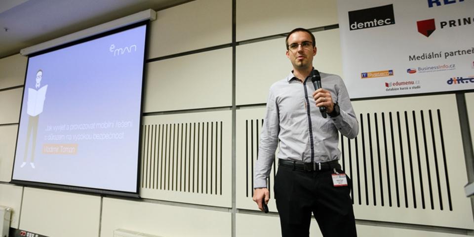 Vladimír Toman (eMan s.r.o.) - Konference Svět informatiky ve finančnictví - 6. 10. 2015 (zdroj: Exponet)