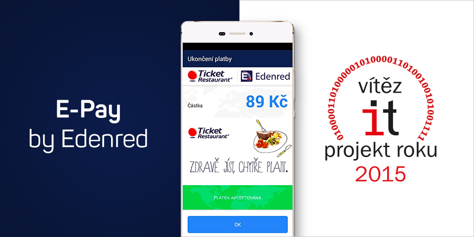 IT Projekt roku 2015 E-Pay by Edenred (eMan)