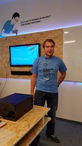 Vladimír Geršl - eMan Dev Meetup, Hradec Králové, 2.8.2016