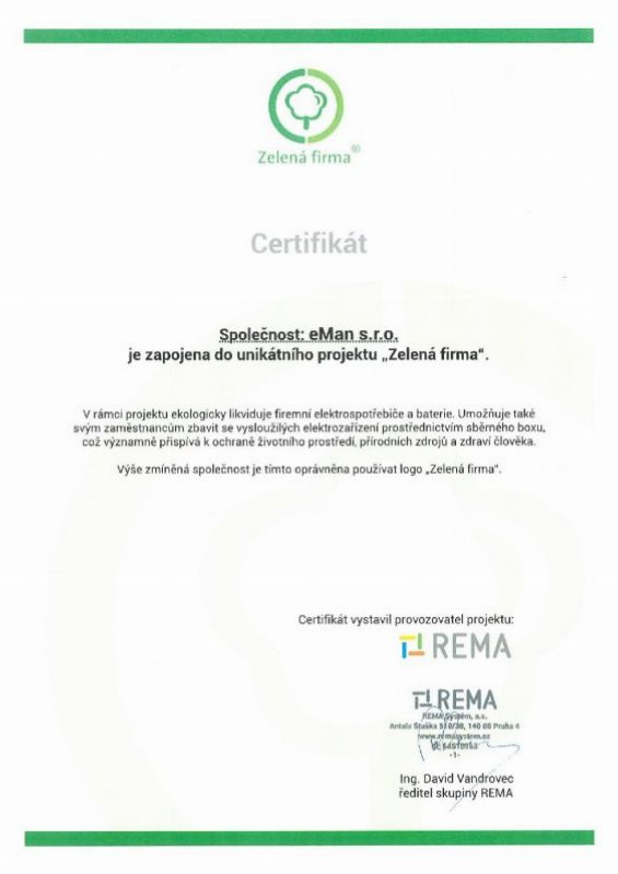 2017 Certifikát Zelená firma eMan-page-001